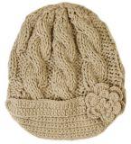 Bonnet de bonnet en tricot en hiver pour femmes