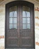Ferro forjado estilo clássico porta da frente do Leão as Portas de ferro