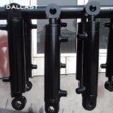 Caminhões/reboques ativos dobro do cilindro do petróleo hidráulico com pistão