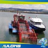 Mietitrice acquatica automatica completa del Weed per i residui della pianta dei canali navigabili di pulizia