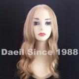 Peluca brasileña rubia del cordón del pelo