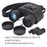 les jumelles de vision nocturne de 4X50 Digitals avec 1.5 la '' gamme du TFT LCD 350m prennent la photo 5MP et le 720p l'appareil-photo visuel Bestguarder Wg-80 de chasse d'IR