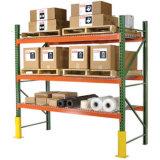 Prateleira longa para plataformas de armazenagem industrial