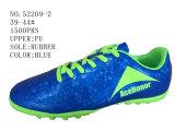 Deux chaussures du football de taille d'hommes d'unité centrale de couleurs