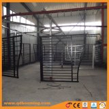 Cancello incurvato ornamentale di alluminio decorativo rivestito della polvere