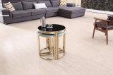 Modern Glossy Titanium + Marble Corner Table