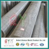 Rete metallica piana saldata galvanizzata del ferro/rete metallica d'acciaio del ferro