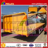 Seitliche Wand-Absinken-Behälter-Transport-halb Schlussteil/Ladung-Schlussteil