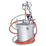 Nieuwe het water-in-Water van het Type Veelkleurige Marmeren Reeks PT-10km van het Spuitpistool van de Lucht van het Effect