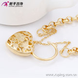 Environmental Copper 73919の方法Xuping 18kの金Plated Women Costume Jewelry Bracelet