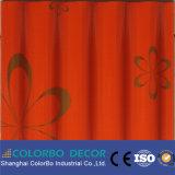 Écran antibruit de tissu décoratif d'isolation saine de KTV