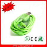 Цветастый кабель USB Micro для Smartphone
