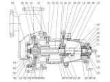 Pompa di olio di Hemical di innesco di auto di serie di Zx per industria