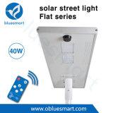 Indicatore luminoso di via solare del Direttore IP65 5200lm Bridgelux LED della fabbrica di Bluesmart