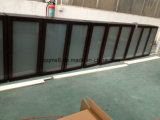 Kitchen Cabinets Use를 위한 Tempered Glass Upper Cabinets