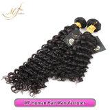 человеческие волосы глубокой волны волос девственницы 9A Unprocessed бразильские