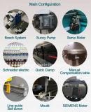 Freno hidráulico de la prensa del CNC de Wc67k 63t/2500: Los productos distribuyeron por todo el mundo
