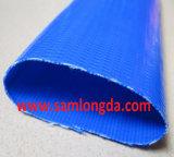 Taille maximum 16inch, boyau bleu de Layflat de rendement économique pour l'irrigation d'agriculture