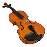 El precio más barato del violín de Solidwood del estudiante con la caja libre del violín
