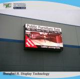 La visualización de larga distancia de P10 en el exterior del módulo de pantalla LED SMD LED instalación fija de escaneo 1/2