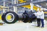 Двойной действующий гидровлический цилиндр используемый в тележках инженерства