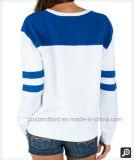 Maglione Hoodie della ragazza casuale del cotone rotondo su ordinazione del collo di buona qualità