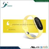 Slimme Manchet van de Armband van de Sport van de Vorm van het octrooi de Privé Volgzaam voor Ce, RoHS, FCC Norm