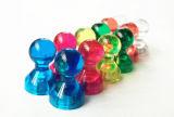 Colorare il magnete magnetico di cristallo di Pin di spinta