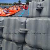 Cubo flotante el pontón del barco del HDPE