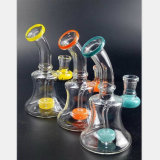 De Waterpijp van het Glas van 6.69 Duim de Terugwinning van de Olie van de Filter van het Gebrandschilderd glas