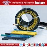 Piegatura idraulica del tubo flessibile di pressione resistente di SAE R4 dell'olio di Semperit