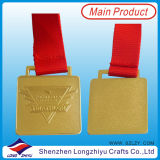 Frankreich Custom Design Medal Sport Metal Running Medals von Honor Award Rectangle Medal