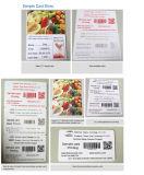 Impresora automática de la tarjeta de Hiti CS200e de la impresora de la identificación de la tarjeta del PVC de la mesa