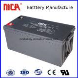 La parte superior Venta 12V 200Ah batería solar baterías de gel Fuente de alimentación