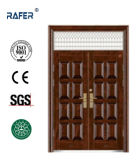 Porta de aço não padrão com janela de ar (RA-S176)