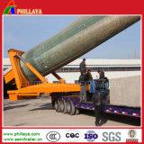 3 eixos de transporte da torre de vento de Direção Hidráulica semi reboque Dolly