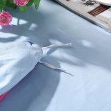 보통 색깔 면 직물 침구 침대 덮개