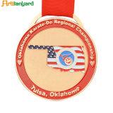 昇進の顧客デザインスポーツの金属メダル