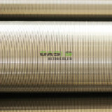 Schermo del cilindro del collegare del Johnson V dell'acciaio inossidabile per industriale