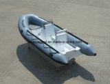 Barco de motor de la costilla de Aqualand 16feet los 4.8m/barco de pesca inflable rígido (rib470A)