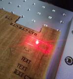 Máquina de cuero de la marca del laser de la fibra de los pantalones vaqueros del CO2 para la madera