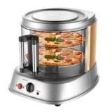 2 strati di modo di disegno del portello del creatore di vetro della pizza
