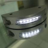 Haute puissance LED super luminosité solaire goujon de la route en aluminium