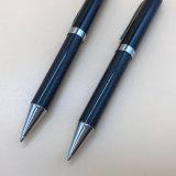 Роскошный дизайн из углеродного волокна индивидуального логотипа пера шариковой ручки из углеродного волокна
