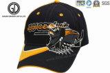 El bordado 100% del algodón 3D de la alta calidad se divierte el sombrero de béisbol, casquillo