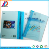 Тетрадь изготовленный на заказ школы PVC книга в твердой обложке спиральн