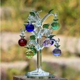 Venta al por mayor de cristal de árbol de manzana para la decoración del hogar