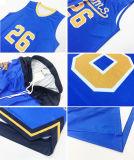 Camiseta personalizada Sport Azul Impresión Digital de desgaste uniforme de baloncesto