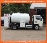 L'ASME camion-citerne GPL, Mini-camion de remplissage de gaz GPL, 5000L chariot de remplissage GPL pour cylindre de gaz
