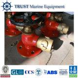Marinefeuer-Schlauch-Ventil der bronzen-5kgf/Cm2 10kgf/Cm2